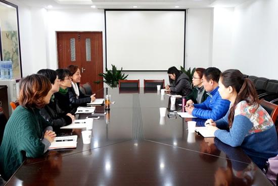 江苏圣理工学院 中俄学院 一行来国教北美学院访问交流
